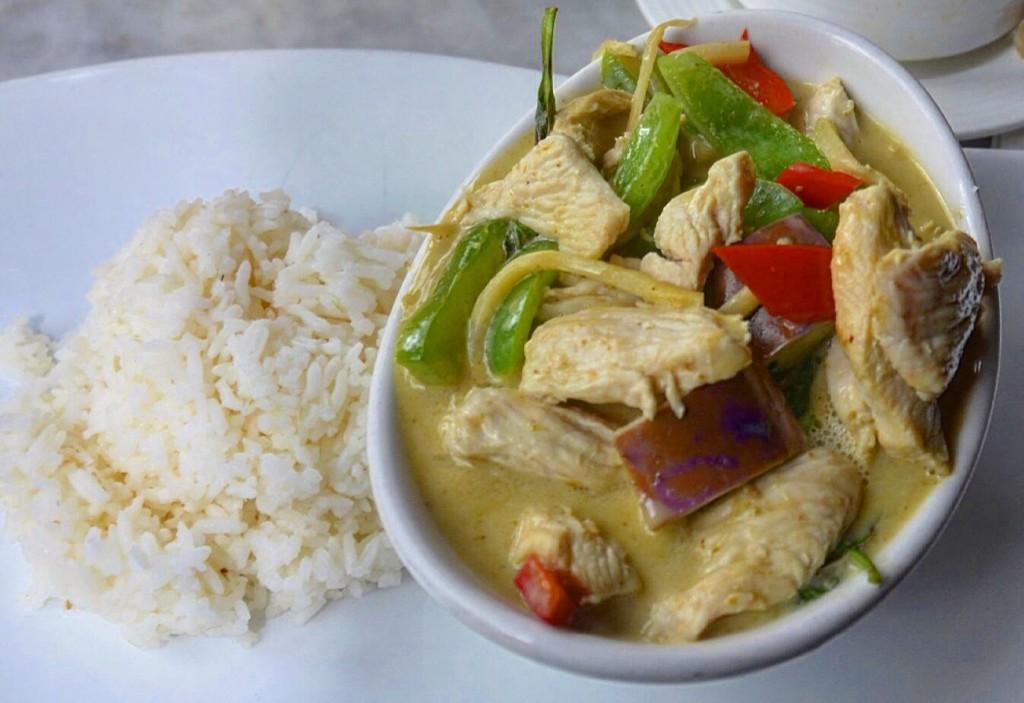 Завтрак в Нью-Йорке в Thai Market