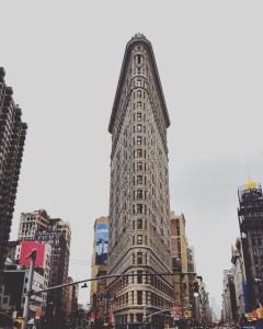 Дом Утюг в Нью Йорке