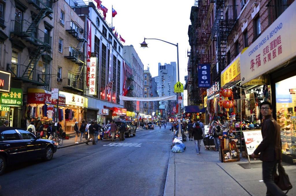 Китайский квартал в Нью-Йорке