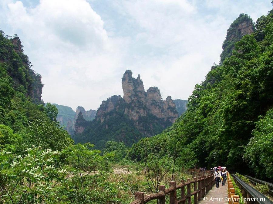 Десяти-мильная-природная-галерея-в-Чжанцзяцзе
