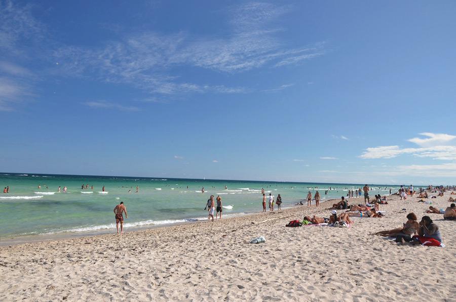 пляж Майами