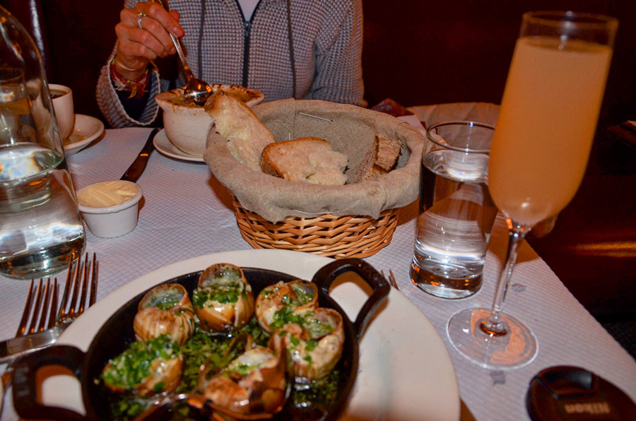 Обед в ресторане Нью-Йорка Бальтараз