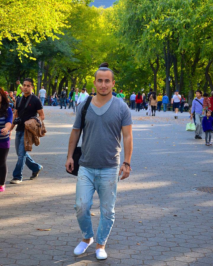 """Место, где снимали фильм """"Осень в Нью-Йорке"""" в центральном парке в Нью-Йорке"""