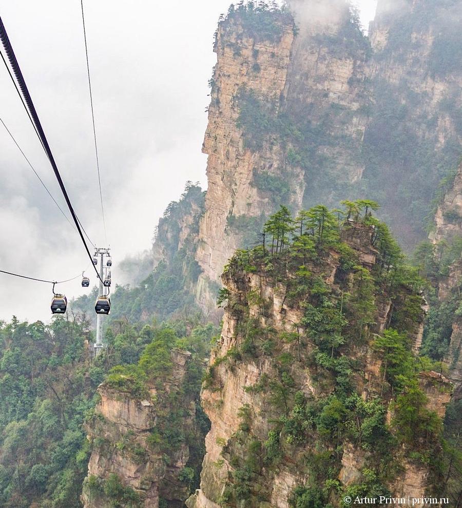 Канатная дорога Тяньцзи