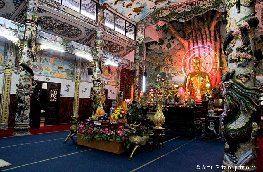 Молельный зал Пагода Линь Фуок