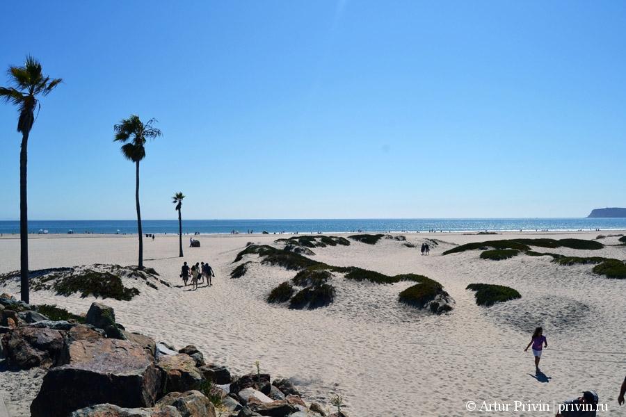 буквы коронадо на пляже