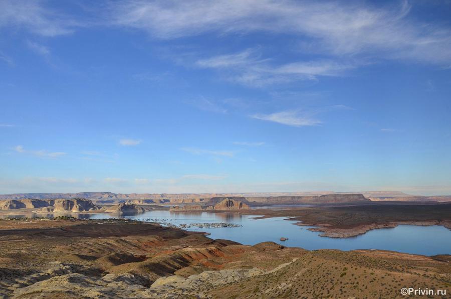 Озеро Пауэлл (Lake Powell)