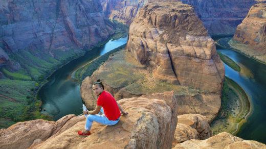 Подкова или изгиб реки Колорадо