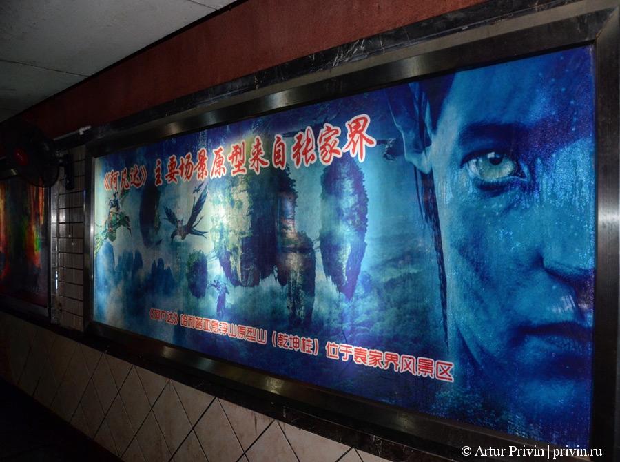 постеры-про-фильм-Аватар-в-Чжанцзяцзе