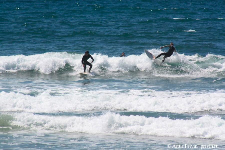 серфинг-в-Калифорнии